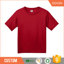 Custom 100 cotton t shirt design plain kids t shirt