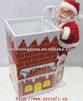 electric Santa Xmas Decoration , Christmas promotional gifts