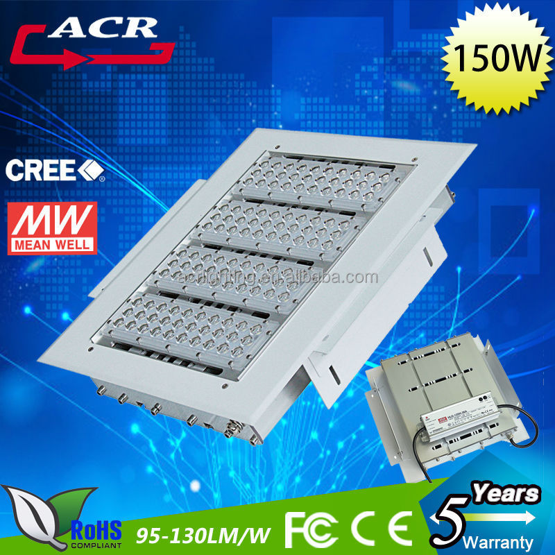 promotion Led high bay light 90w to 200w gas station led canopy lighting used for petrol station