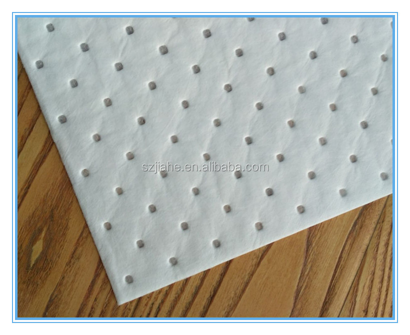 China laminated dimpled oil absorbent pad