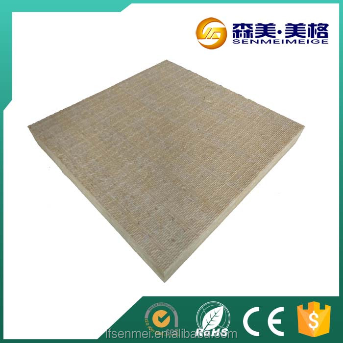 Roofing materials external insulation mineral fiber board for Mineral fiber board insulation