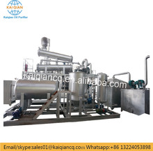 Small Scale Waste Plastic Oil To Fuel Oil Recycling Machine