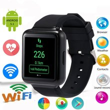 Classial FINOW Q1 Smart Watches 1.54 inch 3G Smartwatch MTK6580 512MB RAM 4GB ROM Watch Pedometer Gravity Sensor Smartwatch