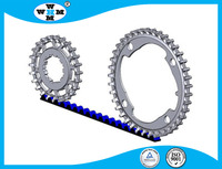 Customized Stainless Steel 17-4 PH Bicycle Sprockets Per Drawing