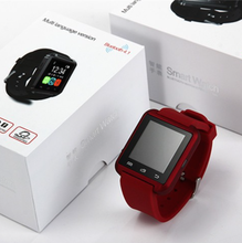 man and women use Smart Watch U8 with bluetooth for Apple iPhone 5 5S 6 Plus ,for Samsung
