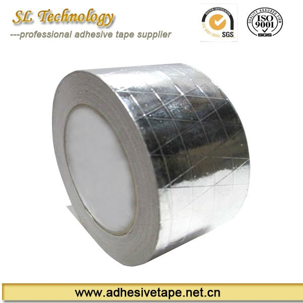 Clamp reinforced aluminum foil tape