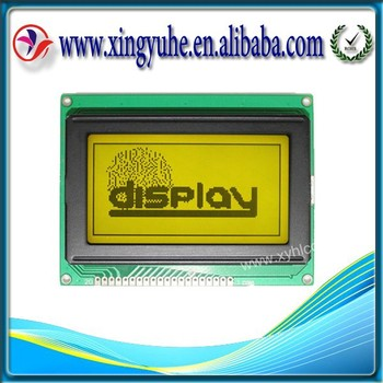 12864 graphic module STN Positive transparent lcd matrix display panel