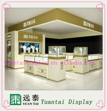 Hot sale beauty and high quality used jewelry kiosk for jewelry display showcase for mall