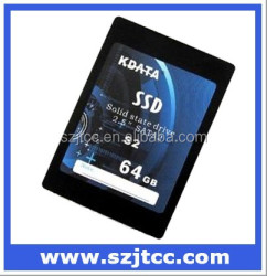 High Quality 64GB SLC SSD Metal Case 64GB SSD Drives 2.5'' SSD SATAII 64GB