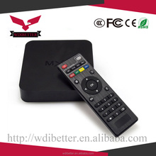 Wholesale Android Quad-Core Digital To Analog TV Converter Box 8GB WIFI 1080P Media Player EU