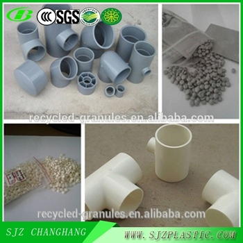 Injection Grade Recycled PVC Compound Granules for Pipe Fitting