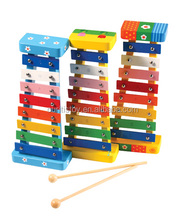 kids games wood educational cartoon toys piano mini xylophone 8 notes toy metal keys in Other Musical Instruments & Accessories