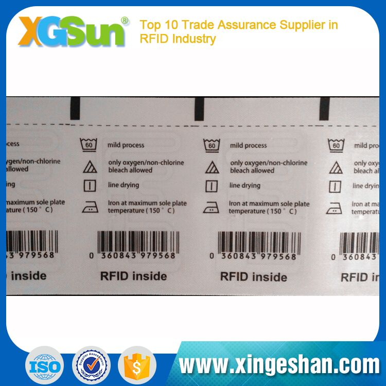 Contactless 2017 Rfid Garment Tag For Clothing Shop