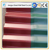 Waviness color Coated Roof Tile Zinc coating Roofing Shingle/Colorful color Coated Steel Roof