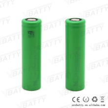 electrodrill battery pack use 18650 lithium battery cell us18650v3 2250mah 10a 18650 battery