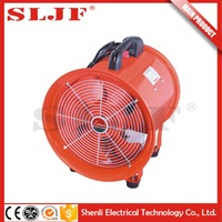 180-750 Watts air ventilation electric portable smoke exhaust axial fan