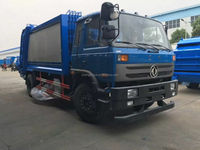Dongfeng 4*2 190HP 12CBM Compression Garbage Truck