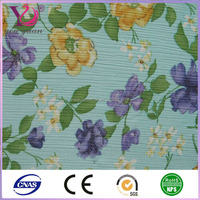 nylon spandex fabric flower pattern bead embroidered fabric