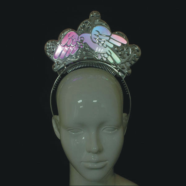 light up plating Bird headband