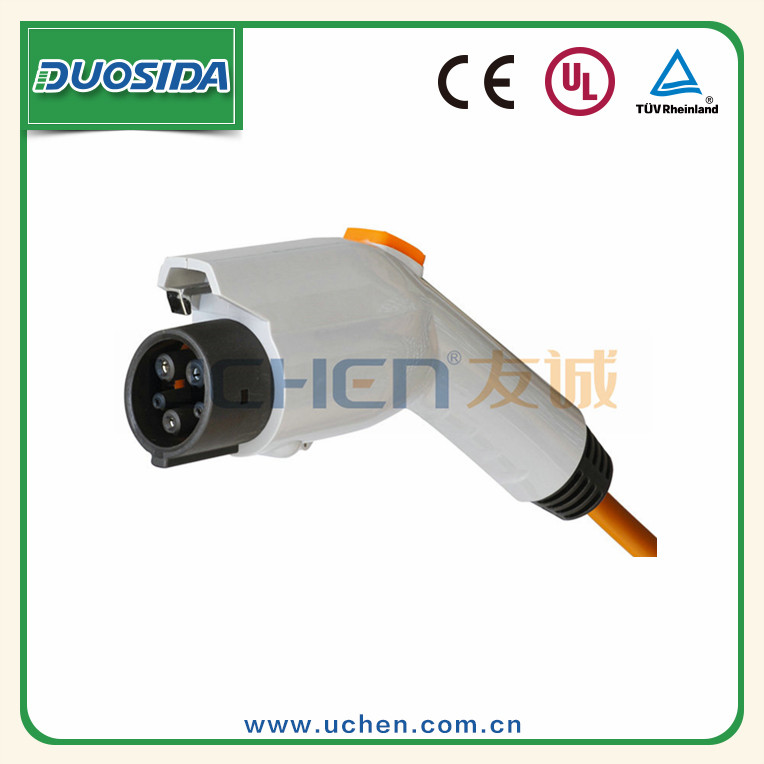 UCHEN UL passed EV connector type1 sae j1772 16A 240V Electric car battery plug
