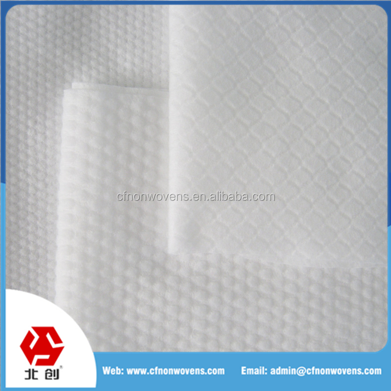 China manufacturer high quality spunlace nonwoven fabric,Wet/dry Wipe