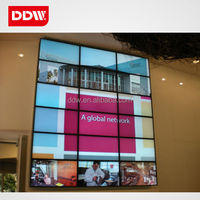 Advertising lcd videowall with advertising lcd video wall screen FHD 1920x1080 LED backlight cheap videowall China