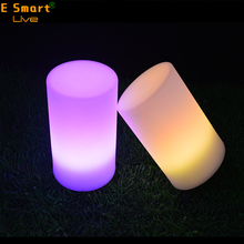 modern battery powered Weeding decoration led flashing light led table lamp