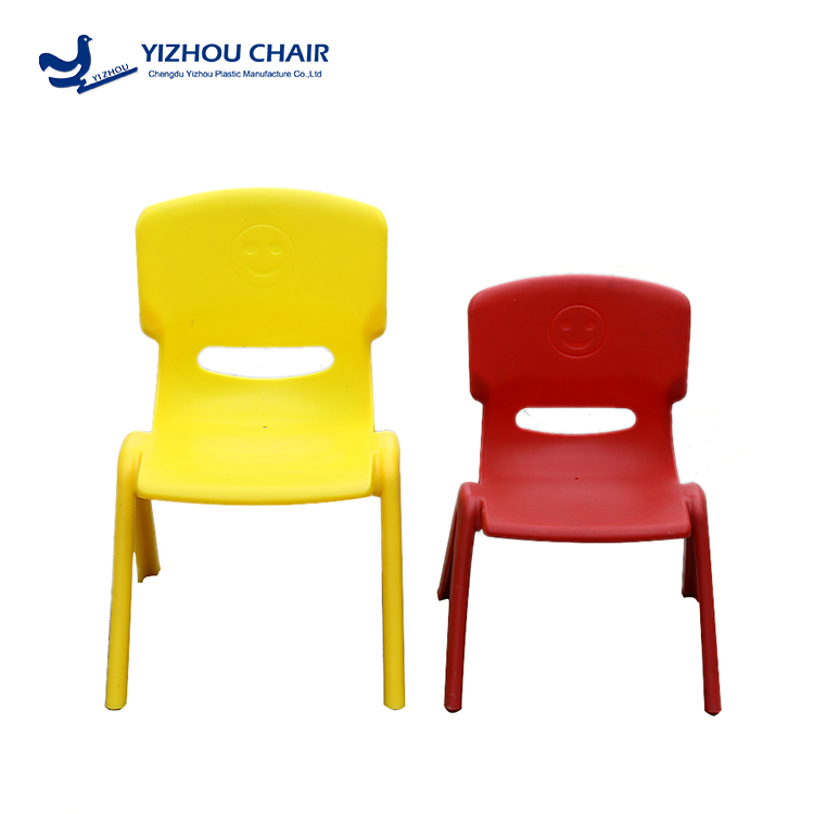 simple latest design kindergarten plastic chairs