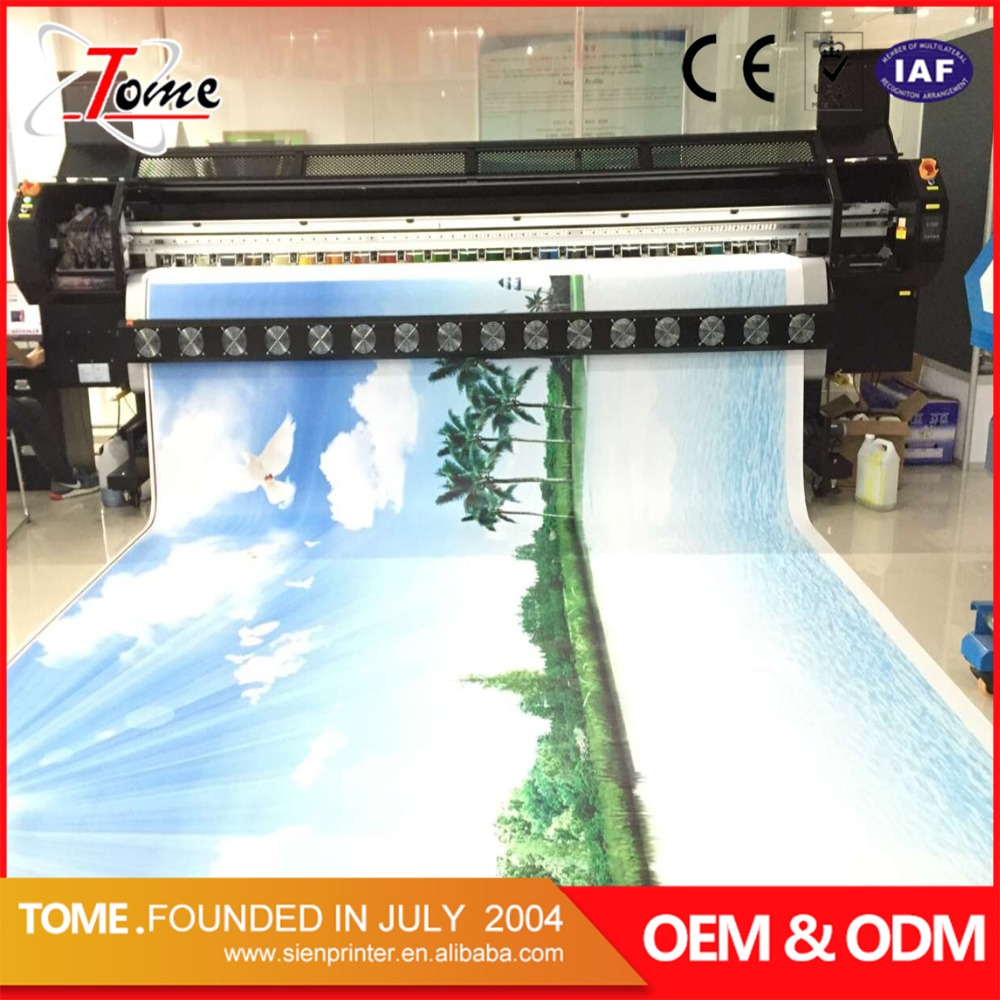 Solvent plotter for flex banner and Vinyl in Guangzhou China