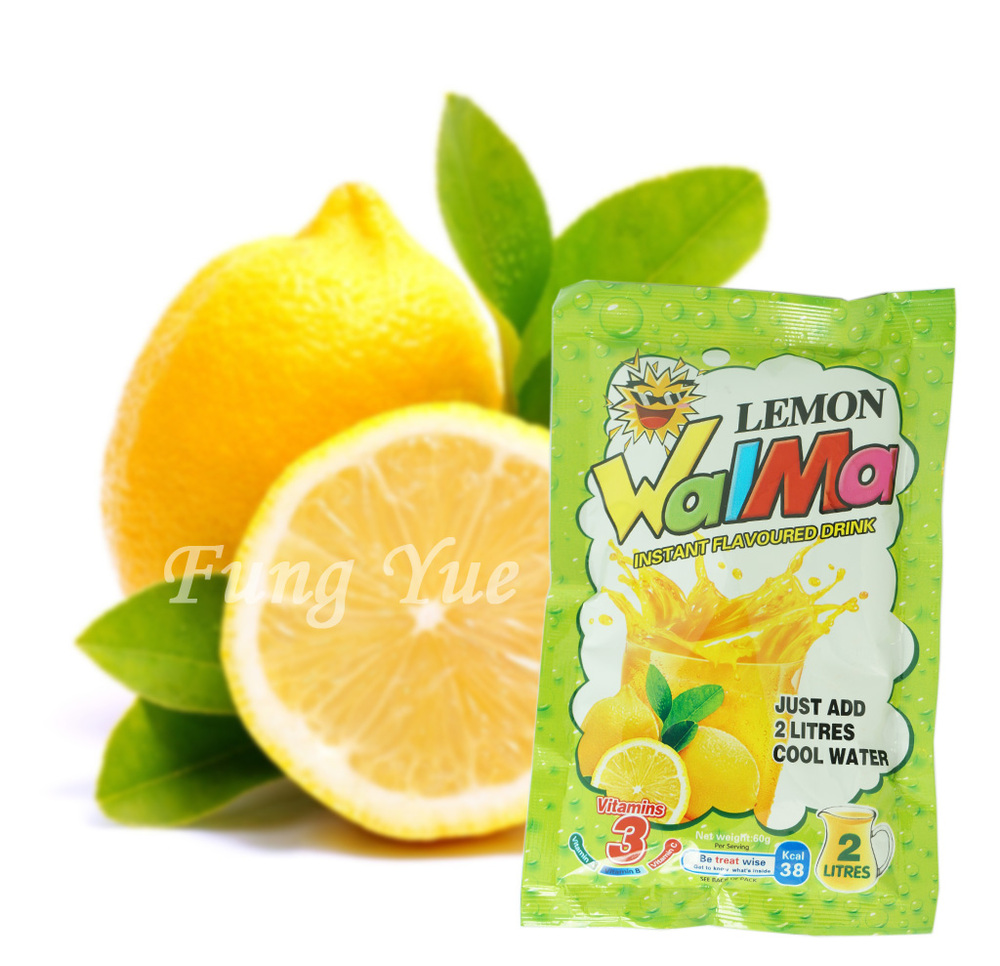 60g Natural Concentrate juice powder Lemon flavor