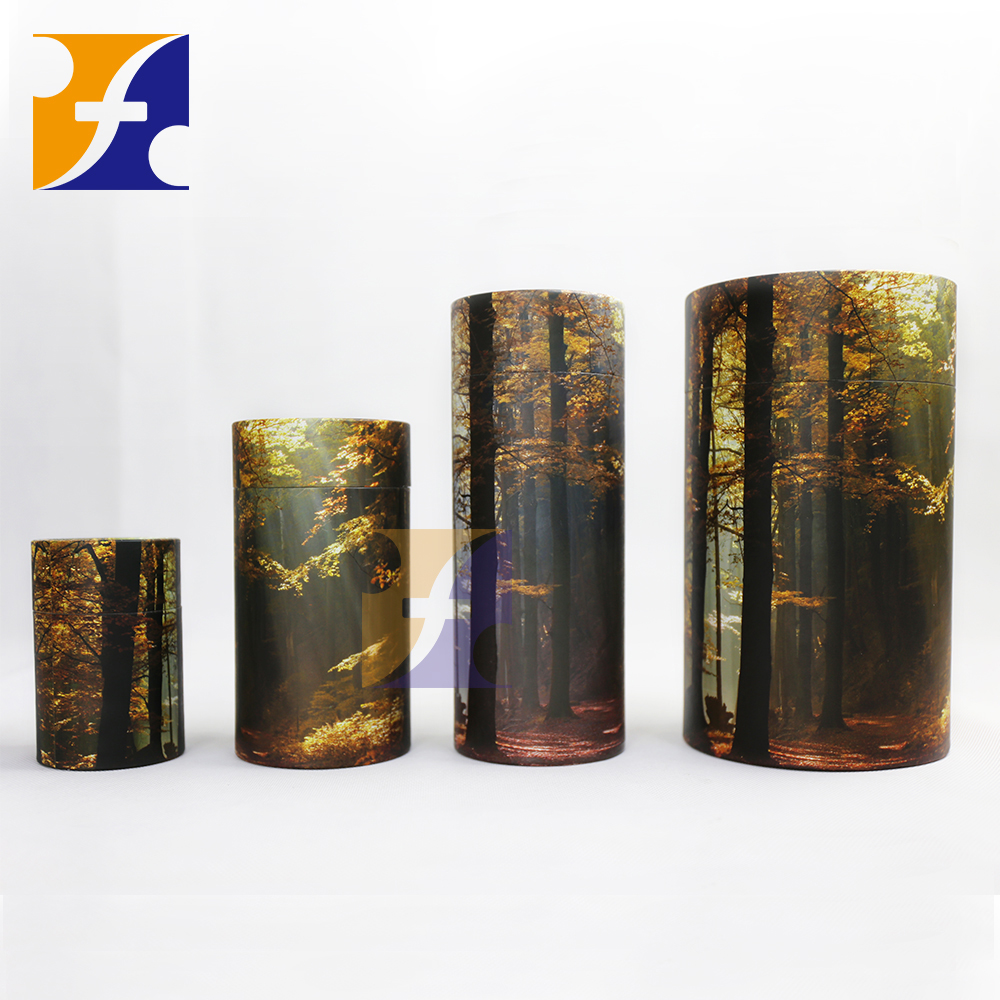 Candle Packaging Tube/ Decorative round cardboard boxes/ Animal ashes paper tube