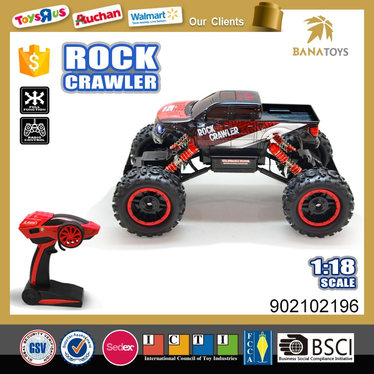 1:18 scale nitro rc car