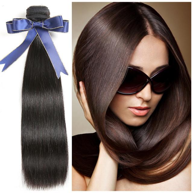 High quality grade 7a virgin hair 100% raw unprocessed virgin peruvian hair brazilian hair weave colours