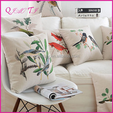 Hot 1pcs Square Fashion Throw Sofa Decorative 100 Cotton Pillow Case