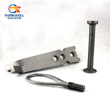 Forged Steel Precast Concrete Lifting Ring Clutch Anchor
