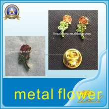 In stock gold masonic rose fashion metal rose flowers for crafts