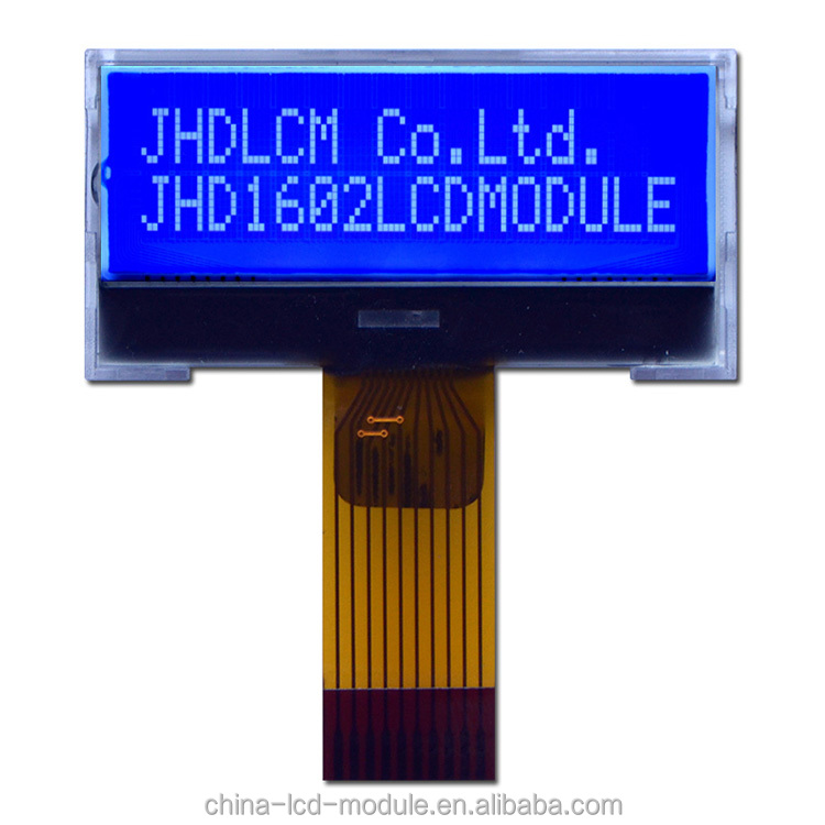 1602 <strong>lcd</strong> JHD1602-G76BTW-B