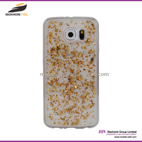 [Somostel] Luxury phone case gold foil series TPU case for samsung note 4 golden goil, for samsung s3 s4 s5 case