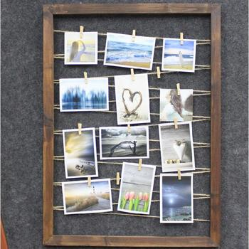 Merry Christmas Hanging Picture Frame for Photo Display