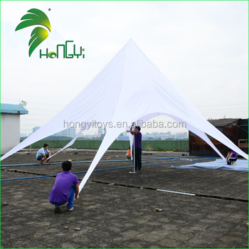 Factory Price Star Beach Canopy Tent For Sale / Waterproof Outdoor Spoder Star Shade Dome Tent