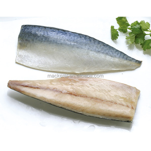 BQF whole Block Frozen Seafood Pacific Mackerel Fillet Flap