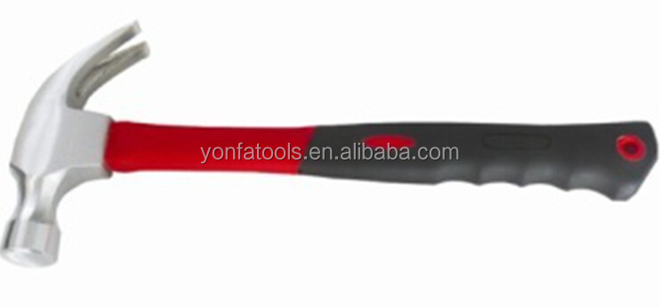 CZ0839 high carbon steel American type claw hammers TPR handle