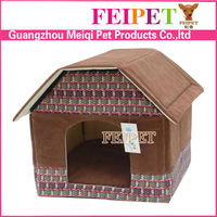 wholesale non-woven fabric foldable xxl dog houses for sale