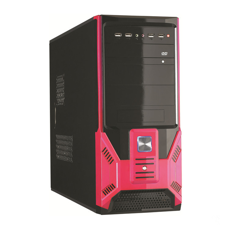 New design fashion 350W MID Tower ATX gaming computer cases with RGB Lights