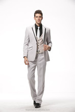 made to measure two button special design party fabric white men evening dress suits