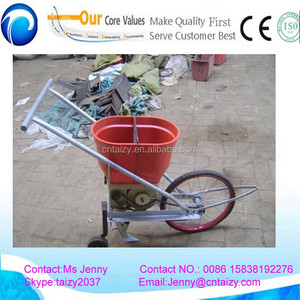 Hand push type corn seeder single row corn planter