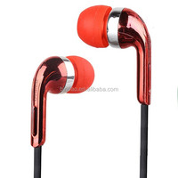 modern professional wire cable earphone earphone earbus throat mic headset