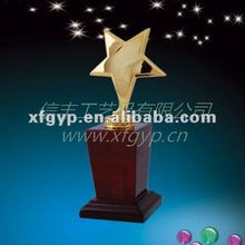 2012 Unique craft metal star,metal trophy
