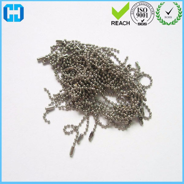 Wholesale Stainless Steel Dog Tag Military Ball Chain