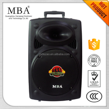 MBA 15 inch 400W loudspeaker easy to drive by professional power amplifer